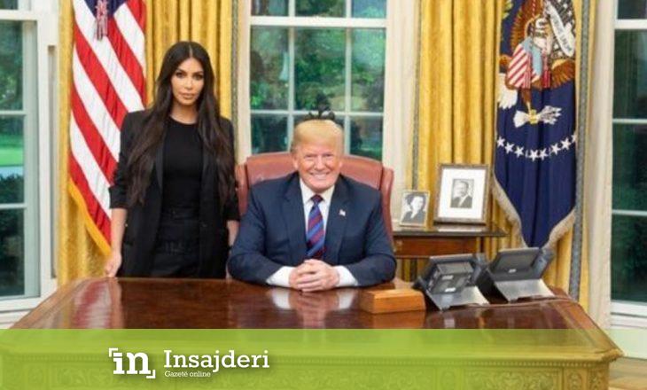 Kim Kardashian në krah të Donald Trump