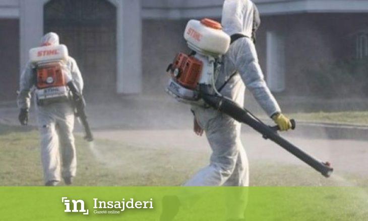 Dezinfektohet ndërtesa e izoluar në Prishtinë ku ka pas të prekur me koronavirus