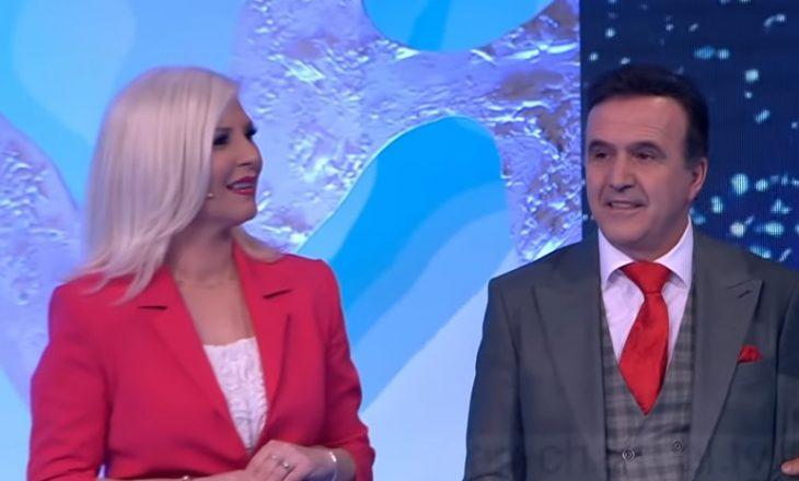 Mihrija e Naimi puthen live në emision