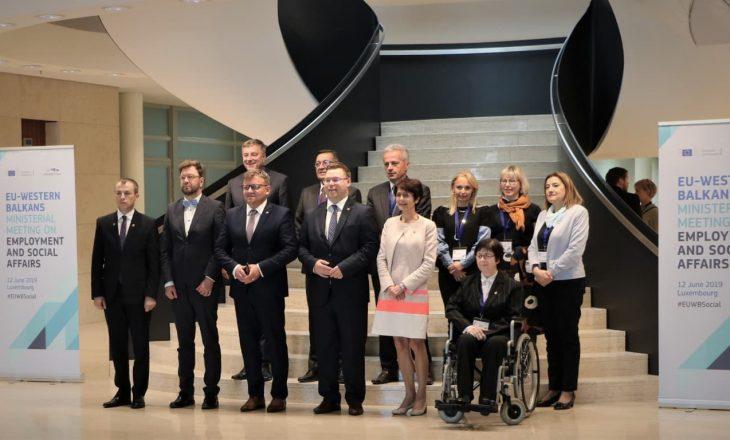 Reçica në Luksemburg pjesë e konferencës ministrore të vendeve të Ballkanit Perëndimor
