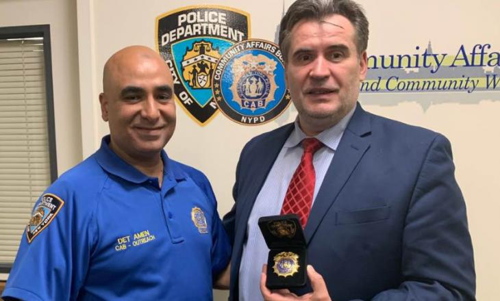 Imami shqiptar merr një post të lartë në Policinë e Nju Jorkut
