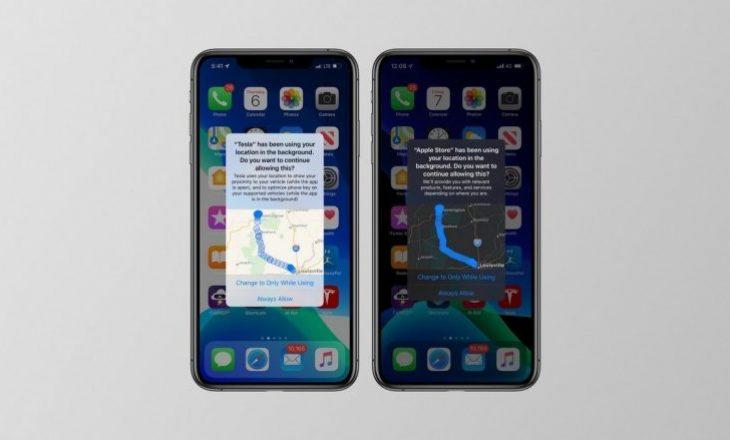iOS 13 do të ju njoftoj cilat aplikacione ndjekin vendndodhjen tuaj dhe ku