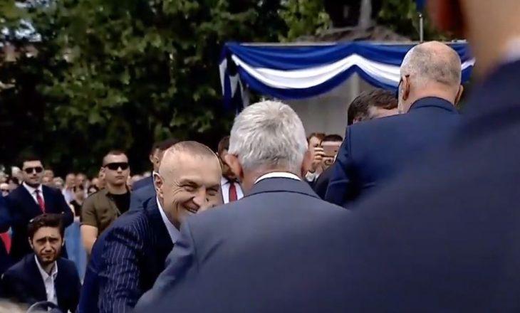 Momenti i sikletshëm mes Edi Ramës dhe Ilir Metës në Prishtinë