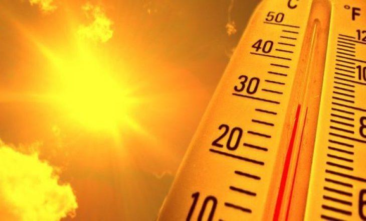 Temperaturat arrijnë deri në 43.3 gradë në këtë shtet