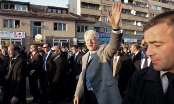 Kur Bill Clinton mbante plisin