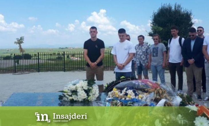 Xhaka e Rashica nderojnë Fadil Vokrrin