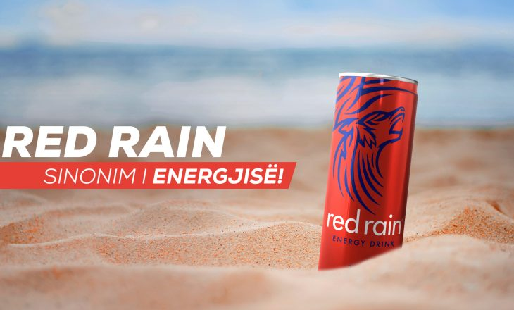 Red Rain, sinonim i energjisë!