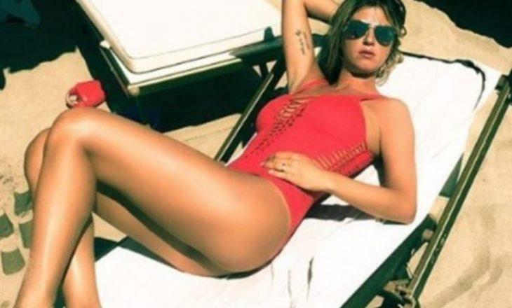 "Çifti Marchisio në Ibiza, Roberta ""çmend"" fansat"