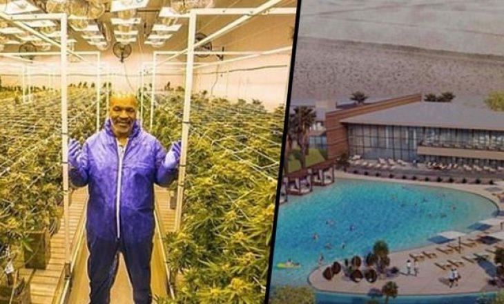 Për të gjithë fansat e kanabisit, Mike Tyson ndërton resortin e ëndrrave