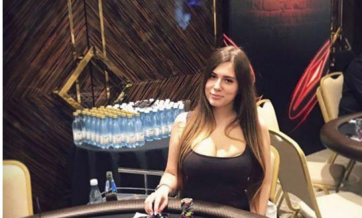 Gjendet e vdekur lojtarja më seksi e pokerit në Rusi