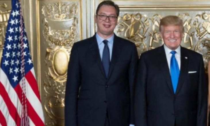 Vuçiq i shkruan Trumpit, ia uron ditëlindjen dhe i kërkon diçka për Kosovën