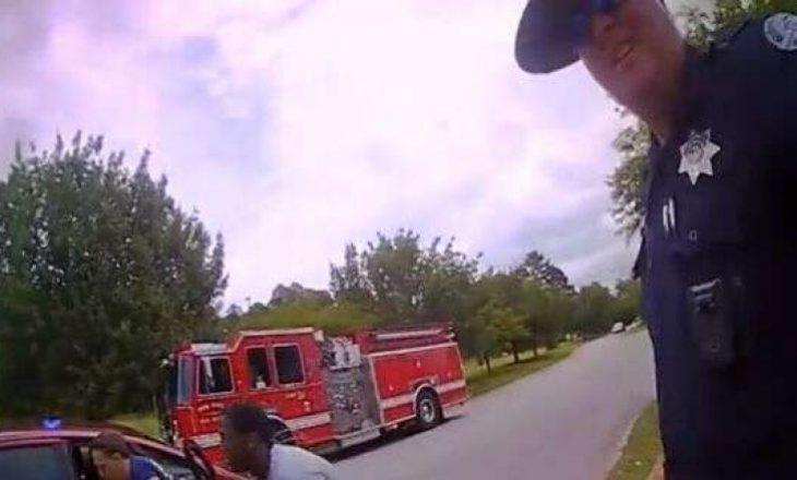 Polici ia shpëton jetën foshnjës që nuk po merrte frymë