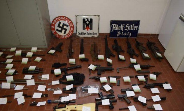 Grupit nazist i kapet raketë ushtarake