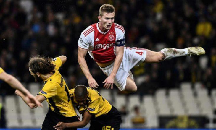 Gara për nënshkrimin e De Ligt ishte deri në momentet e fundit mes Juventusit dhe Barcelonës