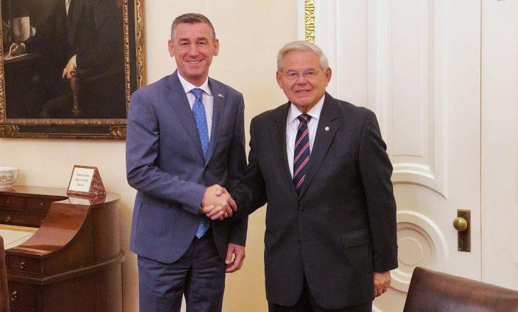 Veseli në Washington: Pa Amerikën nuk mund të ketë marrëveshje finale ndërmjet Kosovës dhe Serbisë