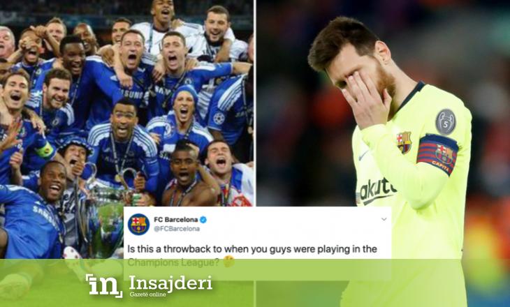 Barcelona u mundua të tallej me Chelsean, por e 'pësoi' në këtë mënyrë