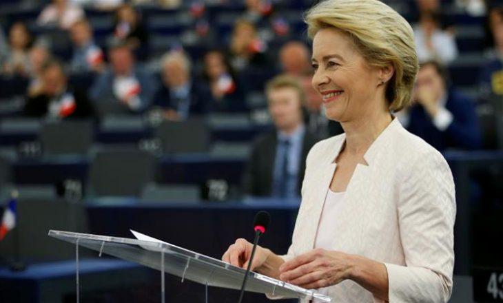 Leyen i jep shpresë Shqipërisë në deklaratën e parë si presidente e KE-së
