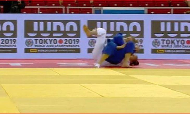 Nora Gjakova e rrëzon përtokë bullgaren dhe prek gjysmëfinalen
