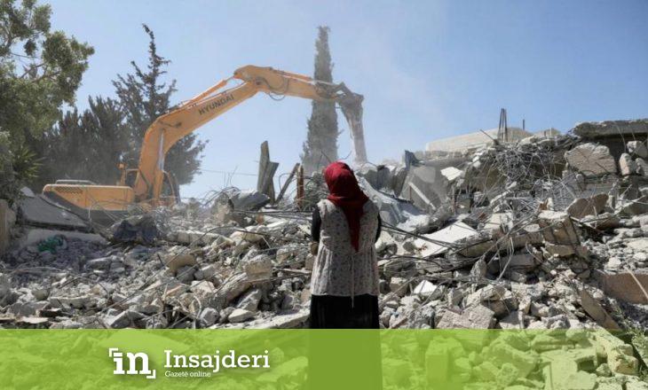 Izraeli shkatërron shtëpitë e palestinezëve