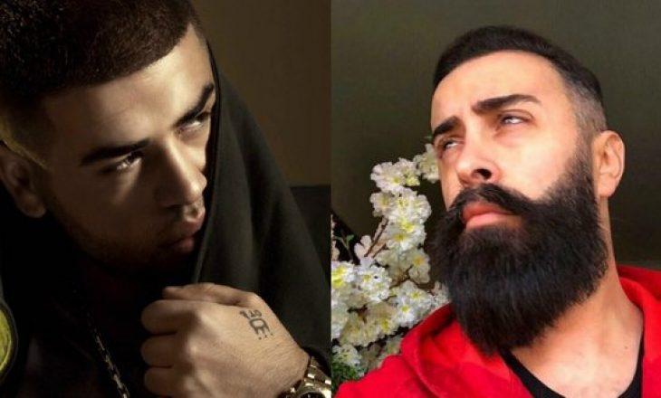 Noizy këndon 'dissin' kushtuar Getoar Selimit në prani të Luanës