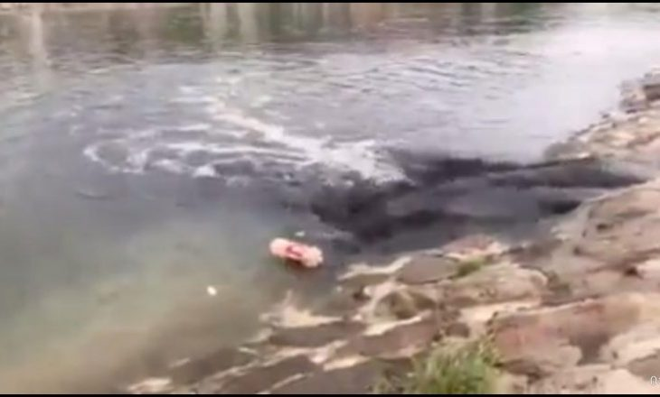 Ujërat e zeza derdhen në liqenin e Mitrovicës – komuna deklarohet për rastin