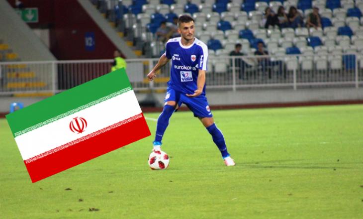 """Endrit Krasniqi merr një ofertë të """"çmendur"""" nga Irani"""