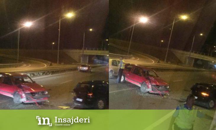 Detaje nga aksidenti në magjistralen Prishtinë- Pejë