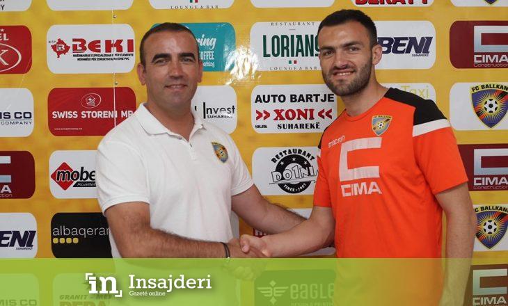 Ballkani i Ismet Munishit nuk ndalet – transferon futbollistin nga Llapi