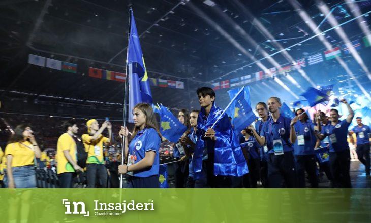 Ekipi i Kosovës parakalon në ceremoninë hapëse të Festivalit Olimpik Evropian