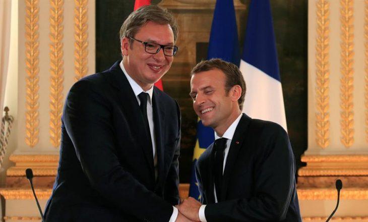 Vuçiq i kërkon ndihmë Macronit për çështjen e Kosovës