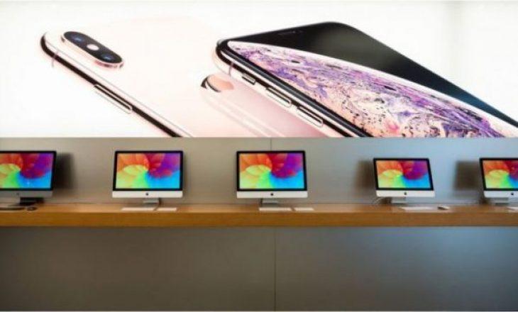 Apple rrit shitjet, iphone shënon rënie
