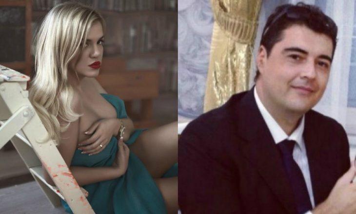 Rrezarta Shkurta filmohet nga bashkëshorti duke tundur të pasmet
