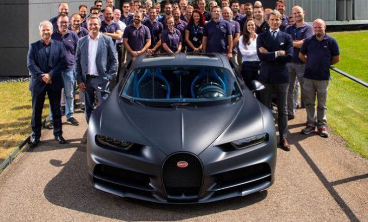 Bugatti prodhon më shumë Chiron se që ka planifikuar
