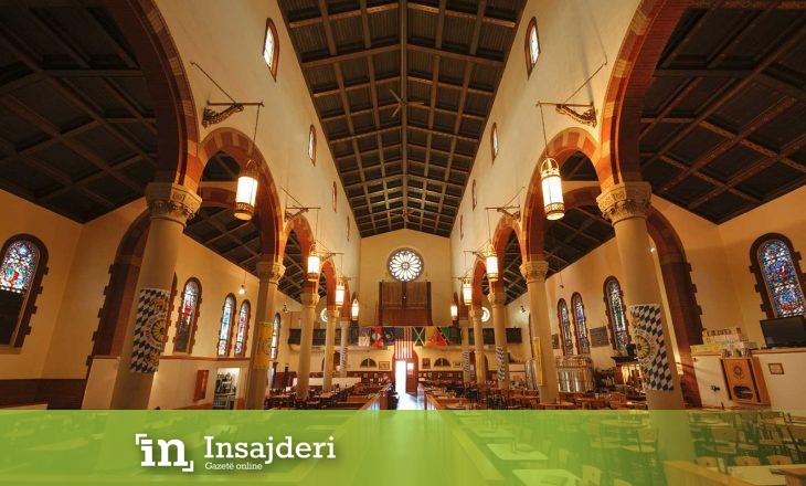Kisha shndërrohet në birrari