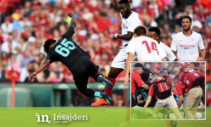 """Talenti i Liverpoolit pësoi lëndim """"horror"""" në miqësoren me Sevillan"""