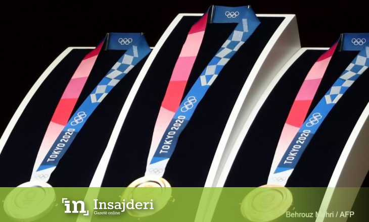 Zbulohen medaljet e Olimpiadës 'Tokyo 2020'