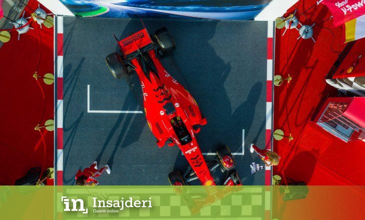Edhe një rast për ta parë Formulën 1 Ferrari në Prishtinë