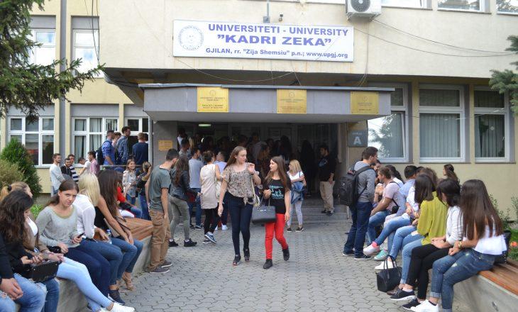 Universitetit të Gjilanit i akreditohet një program i ri