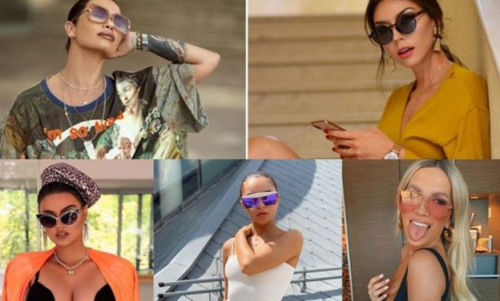 Syzet e diellit: Trendi nga VIP-at shqiptarë