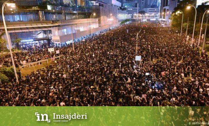 Protesta masive në Hong Kong, marrin pjesë 316,000 protestues