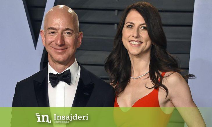 Ish-bashkëshortja e Jeff Bezos, bëhet gruaja e tretë më e pasur në botë pas divorcit