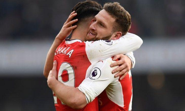 Këto janë të rejat e fundit për dyshen e Arsenalit, Xhaka – Mustafi
