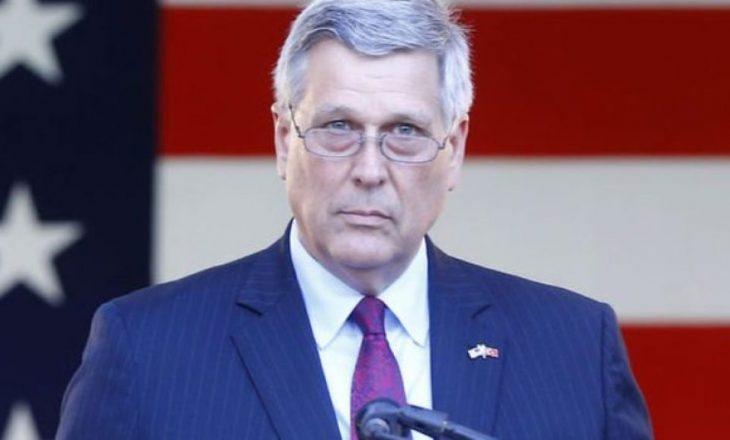 Ambasadori amerikan: Koalicioni Vetëvendosje – LDK ishte fragjil