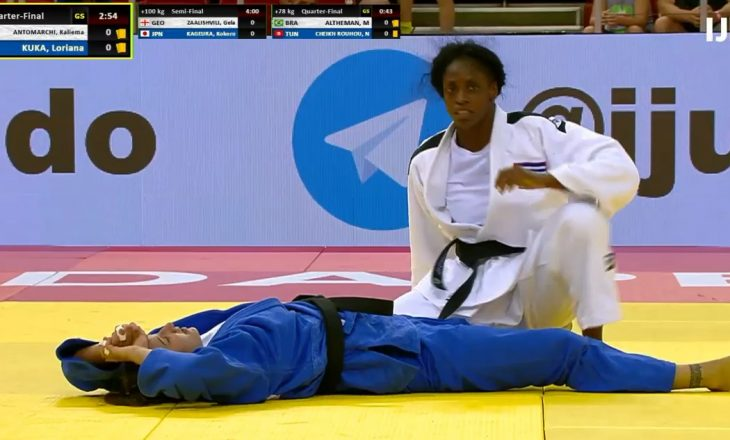 Loriana Kuka mposhtet në çerekfinale