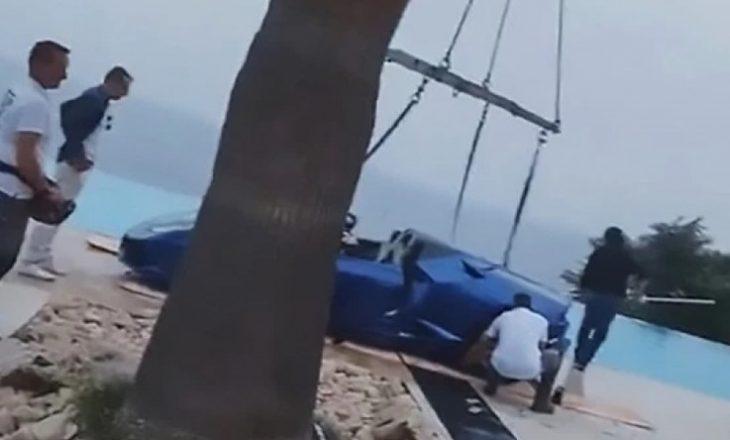 Ish e dashura serbe e Neymarit bën aksident me makinë, përfundon në pishinë