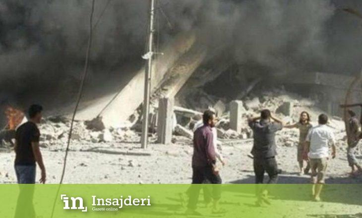 Sulmet ajrore në Siri lënë të vdekur së paku 20 persona