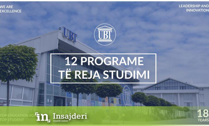 UBT-së i akreditohen 12 programe të reja – Bëhet institucioni me më së shumti programe studimi të akredituara në Kosovë