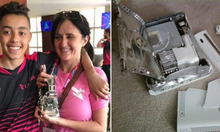 Fitoj 2 milionë euro në 'Fortnite', nëna tregon se si ia kishte hedhur xbox-in në oborr