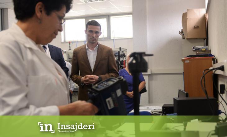 Ministri Shala edhe një vendim në mbrojtje të konsumatorit, përurohen laboratorët e kalibrimit të radarëve dhe alkoolmetrave