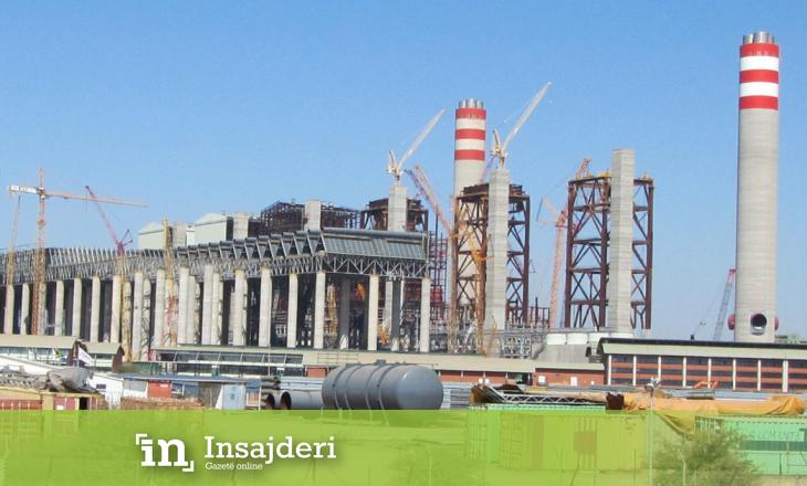 Termocentrali gjigand me qymyr (4800MW) i përkrahur nga Banka Botërore afër përfundimit të ndërtimit